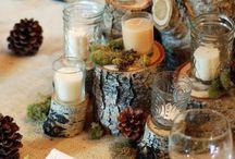 decorazioni tavolo