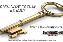 Adventure Rooms Canada / Your group has 60 minutes to find its way out of a REAL LIFE mystery room: solving puzzles, finding hints, keys & using strange objects. Will YOU escape?