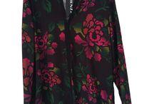 Camisas blusas y tops / Modelos KENZZO modas