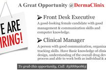 Hiring at DermaClinix / DermaClinix is here with its amazing job opportunities!!!! DermaClinix is well-established clinic for Skin & Hair treatments in Delhi. We take pride in saying that we are here to give you the job you were searching so far. We offer the right opportunity & atmosphere with which you can learn & groom your skills!