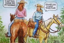 Feelin' Funny, Cowgirl Style / Silly stuff about the horsey lifestyle jingles my spurs!