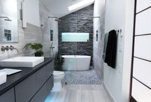 The Modern Bathroom / I love modern home decor!