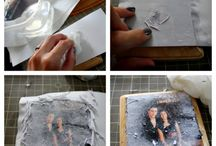 photo transfer on wood or canvas