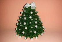 albero con perline