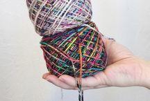 Colourful Yarn - Colourful Knitting