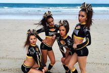 Cheer poses