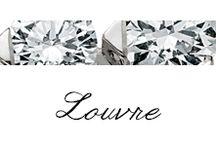 Louvre / #Bibigì | Collezione Louvre | Gioielli in oro bianco e diamanti. Creazioni di sofisticata eleganza, una scelta di stile con diamanti naturali, colore G, purezza IF, disponibili in diverse carature.