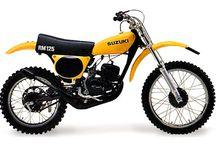 Vintage MX, and enduro bikes