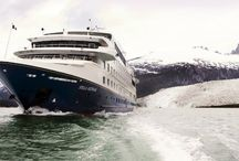 2016 -2017 Australis Cruises News & Deal / The Australis is a boutique river cruise that sails the channels and fjords of Patagonia in South America.