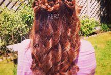 HelloHera Hair / Hairstyles I have made on my hair - Follow my blog www.hellohera.com