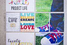 Project Life Title page / PL Titulní stranky inspirace
