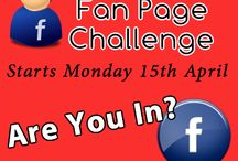 Fan Page Challenge / A board for members of the Fan Page Challenge to add their pins about their Fan Pages