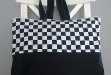 Eko torebki z bawełny, shopper bags. Atelier Caroline / Eko torebki na zakupy, na plażę, na lato, na każde wyjście z domu. Atelier Caroline on facebook