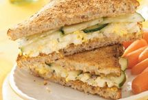 Recipes 4 Sandwich Ideas / sandwiches can become boring, at least if you eat one every day. This board has unique additions and ideas to wake up the sandwich palate, many of them vegetarian! / by Bonnie Nethercott
