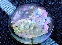紫陽花 帯留めとアクセサリー / 紫陽花の帯留めとアクセサリー