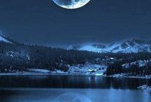 luna di notte