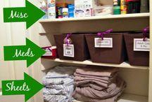 Organise Linen Cupboard