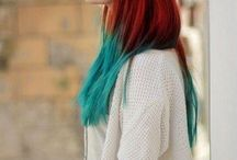 Hair Idea - TURQUOISE / by Audrey Lavigne