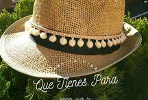 Sombreros cob adorno