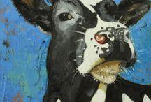 Artsy Stuffs ~ Cow Art