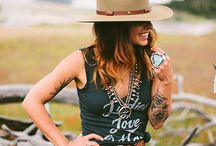 Outlaw styled bridals