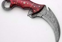 Knives and axes