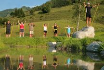 Sports Activities + Luxury Camping / As the #LeadingCampsites are located in beautiful holiday regions and surrounded by an abundance of nature, the outdoor sport possibilities are almost unlimited. You can be active in the water by swimming, snorkelling, diving, rafting, kayaking, surfing, sailing, water-skiing, stand-up paddling… on land with golf, tennis, beach-volleyball, football, hiking, mountaineering, cycling, mountain-biking, horse riding… and even in the air by paragliding, ballooning... Experience 'Freedom at its best'!
