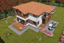 Two Storey houses design
