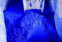 Bleu / Tout en bleu