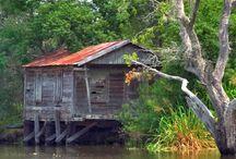 Shacks Sheds & Old farmhouses
