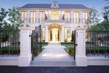 Klassische Häuser