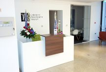 Liberty Control Tower - Professional Interior Design / To refurbish renowned Control Tower on Kings Hill from client designs with specificied internal fittings, finishes and Mechanical and Electrical works.
