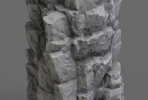 Rock sculpt