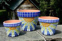 vasos mosaicos