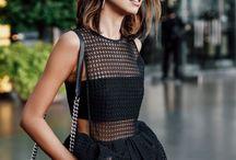 мода темная одежда