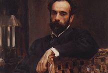 Портреты великих художников-пейзажистов