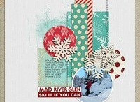 Scrapbook Layouts - Winter / by Laura Laforest