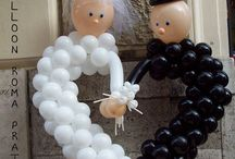 Balloon Bridge & Groom
