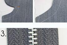 rady návody šití