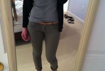 Outfits - green pants