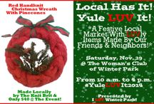 I LUV Local . . . The Individual Artist, The Parkpreneur! / I've recently begun what I hope will be an ever-increasing array of Local markets.  The first . . . Local Has It!  Yule LUV It! will take place this November 29 in Winter Park, Florida, at the Woman's Club of Winter Park.  Join Us there.  Celebrate these Locals who add such color, creativity and uniqueness to our community! / by I LUV Winter Park