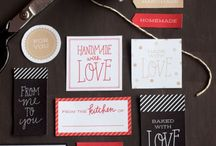 Labels and gift tags