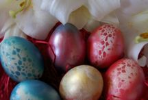 easter eggs airbrushed