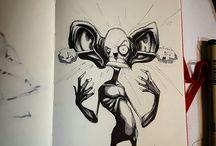 Mental illness drawings