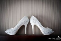 Wedding shoes / I love, love, love shoes so it's always one of my favourite bits of the wedding day seeing what the bride has opted for!