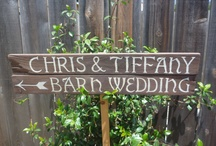 Wedding Ideas / In June of 2012, my son got married to a country girl...barn wedding @ Country Lane Lambs in Addison, PA...my daughter says that someday she'll get married on the beach...a nephew will get married in July, 2013...so, I love getting unique ideas for those special touches that make a wedding day memorable.