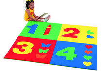 Activity Mats / Our Activity/Crawly Mats can be used by all ages. Great for school age activities and shielding from non-hygienic surfaces, or a gentle soft place for play time! http://www.childrensfactory.com/