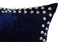 velvet sequin pillow