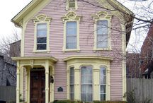 Exterior Colors | Pink / by Kate | Sensational Color