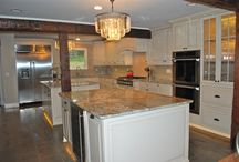 (Viking Kitchen) Allison Park Kitchen / Check out this fabulous kitchen we recently completed in Allison Park.  Viking Woodworking designs, built, painted and installed the cabinetry for this incredible space.